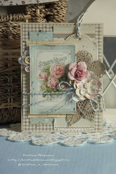 Vintage Cafe Card Challenge: Стильная рубрика - Ретро