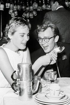 Ursula Andress & James Dean 1955