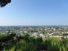 Panorama, Cisternino Puglia Italia (Luglio)