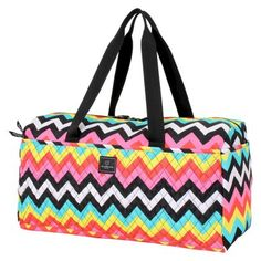 58ae457b6200 French West Indies Les Plages Soft Duffel Chevron French West Indies