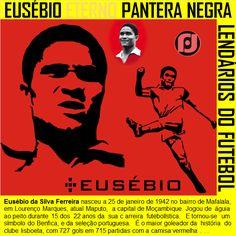 Lendários do Futebol - Eusébio Pantera Negra