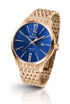 0fbcd7a2803f Reloj de pulsera TW Steel TW1309 Slim Stainless Steel Bracelet