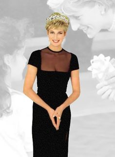 Princess Diana.She is sadly missed.Please check out my website thanks. www.photopix.co.nz