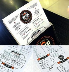Size Matters Menu Design via Inksurge