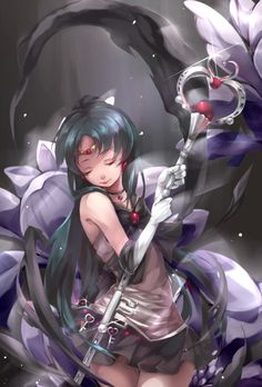 Sailor Pluto Guardian of Time 美少女戰士 | 真螃蟹 [pixiv]