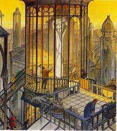 SCHUITEN & PEETERS, The Tower