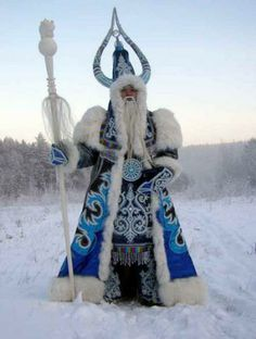 Le père-noël russe : Ded Moroz
