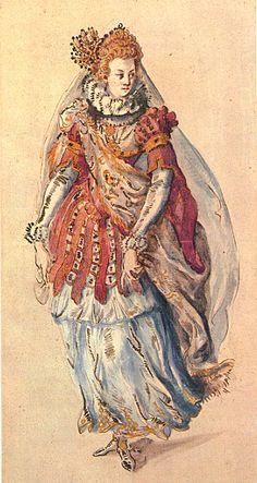"Inigo Jones Costume design for a Torchbearer in the ""Masque of Costume for a Torchbearer of Oceania from the. Theatre Costumes, Ballet Costumes, Dance Costumes, Victorian Fancy Dress, Medieval, Carnival Costumes, Fashion Plates, Historian, Christmas Traditions"