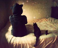 Gato Preto Love! #inspiração