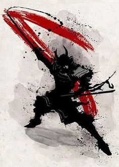 steel canvas Movies & TV samurai katana warrior bushido japan nippon armour black and white fighter Ronin Samurai, Samurai Warrior, Arte Ninja, Samurai Artwork, Samurai Tattoo, Ronin Tattoo, Japan Art, Print Artist, Cool Artwork