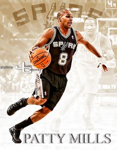Spurs Patty Mills graphics by justcreate Sports Edits