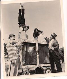 Big John Strong's circus acts 1950