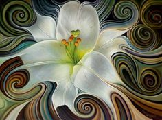 Dynamic Lily Print - Ricardo Chavez-Mendez - New Mexico Creates - Stunning Art Work by New Mexico Artists