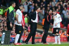 Falcao, van Gaal, Giggs & Rooney