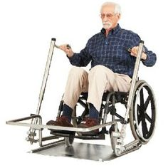 Cybex Universal Gym for wheelchairusers. >>> See it