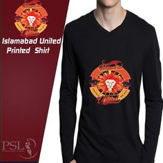 Oshi.pk is bringing a deal of Islamabad United Full Sleeves PSL Tshirt in such low and affordable price which you'll not get in Pakistan. So what are you waiting for? Come and get this deal only at Oshi.pk!