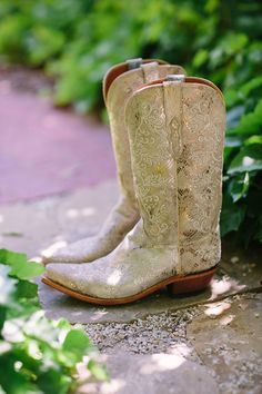 gold cowboy boots   Apryl Ann