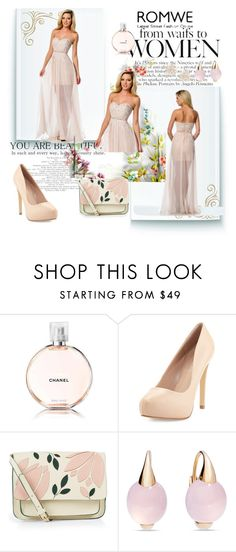 """""""prom dress 2016"""" by sophie-robelle on Polyvore featuring Chanel, Charles by Charles David, Accessorize, Pomellato and Cara"""