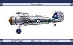 RAF Gloster Gladiator #aviationfurniture