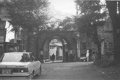 同潤会代官山アパート(1925~28年)。代官山町。1992年8月撮影 渋谷区代官山町