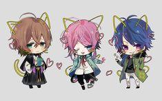 Division All Stars ヒプノシスマイク(Matenrou Hypnosis Mic) HypMic (ヒプマイ) Anime Songs, Anime Music, Hot Anime Guys, I Love Anime, Pink Hair Anime, Aldnoah Zero, Rap Battle, Cute Chibi, Pastel Art