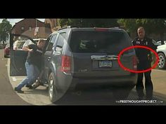Dashcam: Cop Beats Man in Fit of Road Rage As Fellow Cop Attempts to Cov...