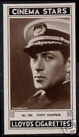 1930's Movie Star Cigarette Card Guide (Collectables) | eBay