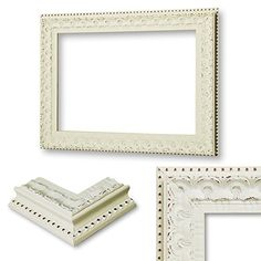 Shabby Chic Picture Photo Frame Distressed Vintage CREAM Ornate 6 CM THICKNESS-4Everless (A1 33.1x23.4 IN - 84.1x59.4 CM) 4Ever4Less http://www.amazon.co.uk/dp/B00N9CTNT0/ref=cm_sw_r_pi_dp_jXRXub1A9NWGQ