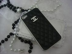 Very cute for my possible new iphone! Black Chanel iPhone Case!