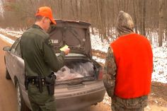 DNR Officers Watch Over Hunters on Opening Day - Northern Michigan's News Leader