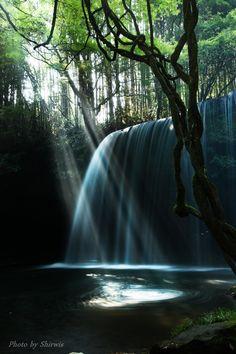 Nabegatakai Falls, Kumamoto, Japan.