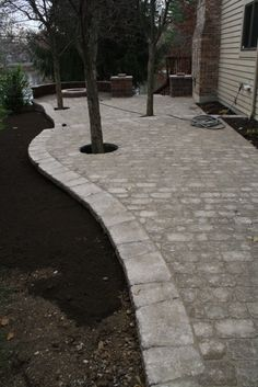 Find This Pin And More On Justinu0027s Landscape   Indianapolis. Enormous Paver  Patio ...