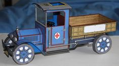 PAPERMAU: Antique Truck Paper Model - by Broderbund - via Mike And Lace