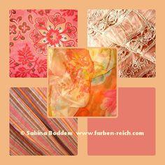 Farben für den Frühlingstyp, Farbberatung, Farbenreich, Sabina Boddem, www.farben-reich.com