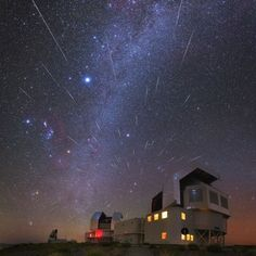 Gemind meteor shower 12/15/15 Yuri Beletsky from Chile, Atacama Desert