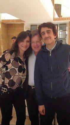 Con l'attore e regista Sergio Rubini