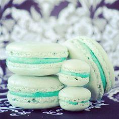 Macarons bleus (By Soukyfashion on Instagram)