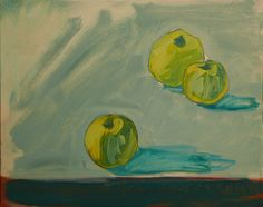 "Saatchi Online Artist Janusz Gałuszka; Painting, ""apple Steve"" #art"