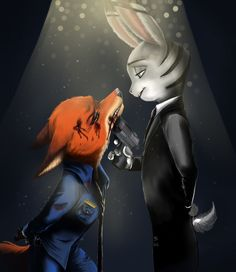 Zootopia in Genderbend. And in different charterers.