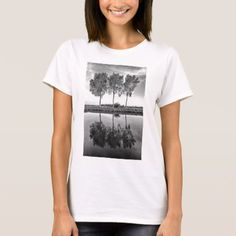 Shop Trees reflected in the waters of the Brugge to Oos T-Shirt created by Funkyworm. Personalize it with photos & text or purchase as is! Shirt Style, Your Style, Shirt Designs, Trees, Mens Tops, T Shirt, Stuff To Buy, Women, Fashion