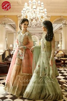 Dresses hair style make up by khawar riaz is amazing....