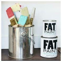 FAT chalk style paint