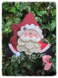 Patrones Santas y elfos 2014: patrón de papel de Santa Blueberry Quilted Christmas Gifts, Christmas Gnome, Christmas Sewing, Christmas Items, Christmas 2016, Christmas Humor, All Things Christmas, Merry Christmas, Xmas