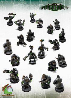 Shadow War Armageddon Ork German WW2 Themed Warband