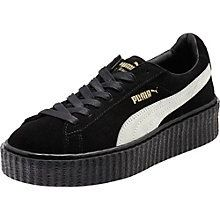 buy popular eb1c3 ad6d4 Basket Puma By Rihanna Creeper Noir Star Blanc Noir