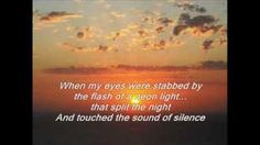The Sound Of Silence--Simon And Garfunkel - YouTube