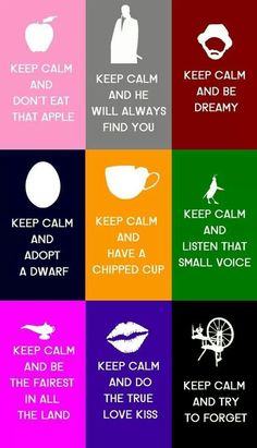 Keep Calm and Watch Once Upon A Time on ABC