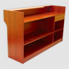 Shop retail counters and display cases