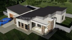 The post 3 Bedroom House Plans appeared first on My Building Plans South Africa. Single Storey House Plans, One Storey House, Round House Plans, Free House Plans, My Building, Building Plans, 6 Bedroom House Plans, House Plans South Africa, Beautiful House Plans
