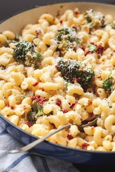 Lean, healthy vegetarian pasta that the whole family will love! Sorry, I'd have to add some grilled chicken to this.